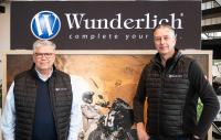 Wunderlich Managing Director Frank Hoffmann (right) and the previous Head of Wunderlich Marketing Arno Gabel (left)