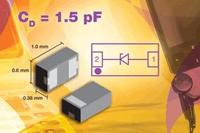 Vishay's New ESD Single-Line Protection Diode Is Industry's First to Provide Low Capacitance of 1.5 pF in the New Leadless LLP1006 Package