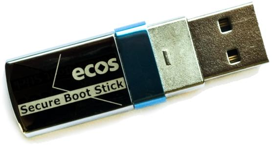 ECOS Secure Boot Stick