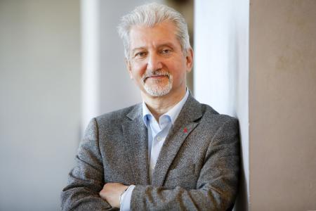 Olivier Höbel, Bezirksleiter der IG Metall Berlin-Brandenburg-Sachsen – Foto: IG Metall BBS