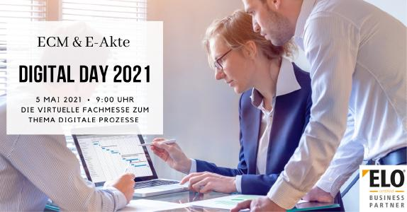 Digital Day 2021 - Der Fachkongress zu ECM & E-Akte