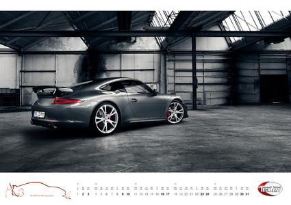 The TECHART Calendar 2013