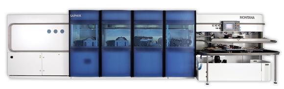 MONTANA SAPHIR Ski und Snowboard Serviceroboter für mittlere bis grosse Werkstätten
