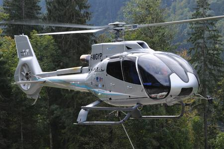 EC130 T2 in flight