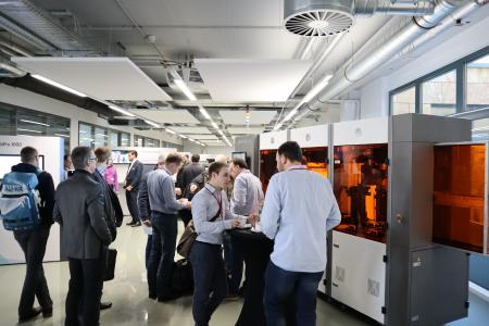 SolidLine AG- 3D-Druck Innovationsforum, Druckerausstellung