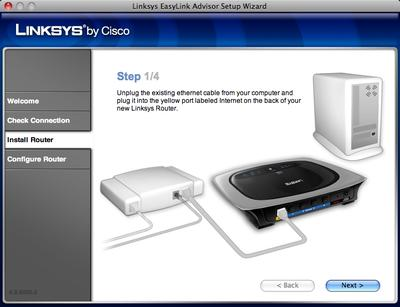 Linksys By Cisco bietet Setup-Support für Mac Os X