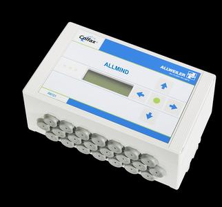 """The """"AM 101"""" master module is the """"brain"""" of Allweiler AG's new pump monitoring, diagnosis, and control system. If several pumps are in use, the """"AM 201"""" satellite modules come into play. They receive sensor signals at each pump and communicate with the master module."""