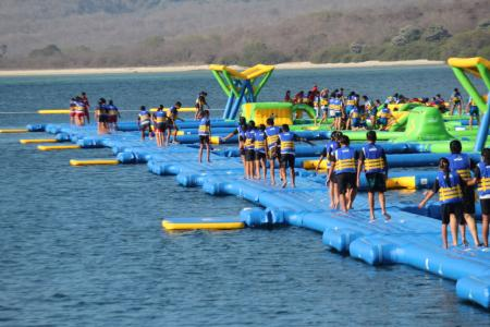 "Wibit breaks GUINNESS WORLD RECORDS® title for ""largest inflatable aqua park"" in Indonesia"