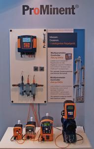 Die Magnet-Membrandosierpumpe delta® bildet in Kombination mit dem Mess- und Regelgerät DULCOMETER® diaLog DACa und den DULCOTEST® Sensoren einen perfekten Regelkreis.