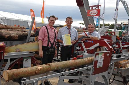 Unsere Brennholzkappsägen gewinnen die ZLF 2012 Jubiläums-Innovation