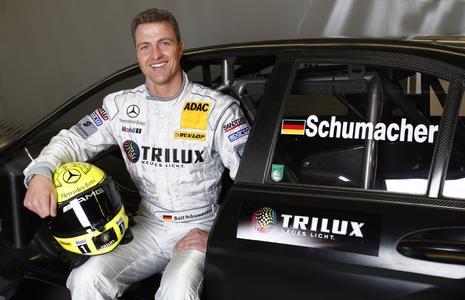 Trilux setzt DTM-Engagement fort: Ralf Schumacher startet 2009 mit nagelneuem Fahrzeug durch