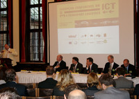 "Experts in logistics met at the ""3rd European Conference on ICT for Transport Logistics"" in Bremen, Germany"