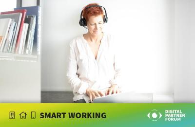 Online-Veranstaltung von estos: Digitales Partner Forum zum Thema Smart Working