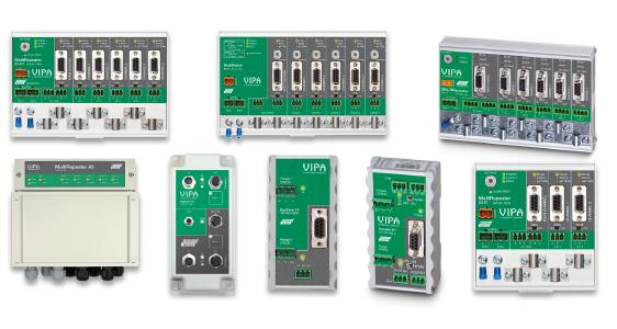 PROFIBUS repeater, MultiSwitches and Bus terminators