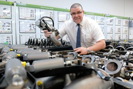 """Keith Bendelow, Managing Director of GT Group and Vice President of the Center of Competence for Engine Air products, said: """"The support of Knorr-Bremse has bolstered activity at GT Emissions Systems helping to significantly increase production, and position our operations as a global center of excellence in the field of engine air management."""""""