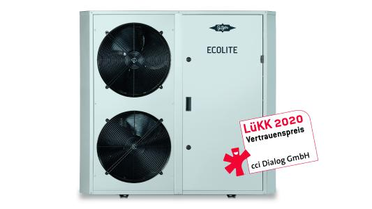 ECOLITE is the newest family member of BITZER condensing units / Images may only be used for editorial purposes. This usage is free of charge if 'Photo: BITZER' – and a free copy of the publication is sent to us. Images may not be modified or altered, except to crop out the background surrounding the main subject
