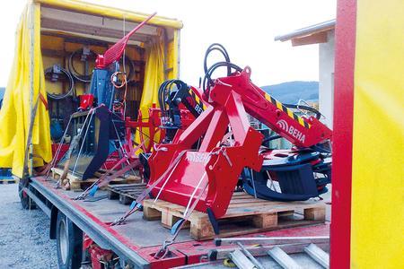 Spezialtransporte Werner Rinklef findet Fracht via Mobilzugang