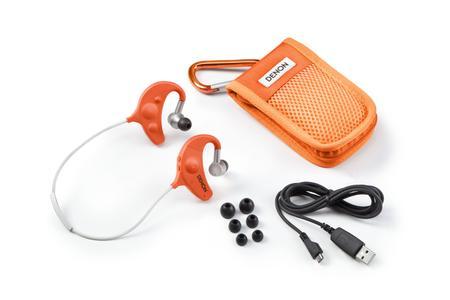 Kompletter Lieferumfang des Denon AH-W150 Orange
