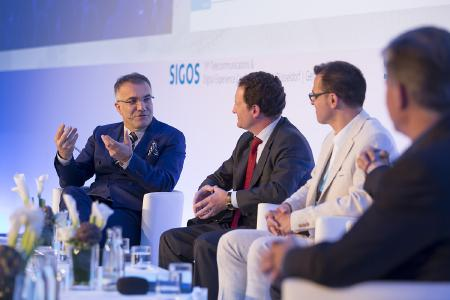 SIGOS CEO Adil Kaya, host of SIGOS's 19th Telecommunications and Digital Experience Conference in Dusseldorf, Germany.