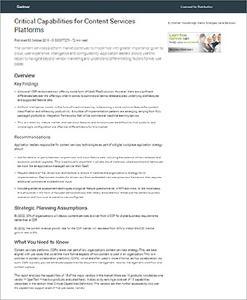Gartner prüft 18 CSP/ECM-Hersteller auf Herz und Nieren