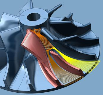 hyperMILL® 2012 – new strategies for impellers and blisks