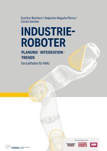 """Titelseite des Fachbuchs """"Industrieroboter"""", Quelle: Vogel Communications Group"""