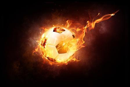 Brennendes Verlangen nach gutem Fußball...