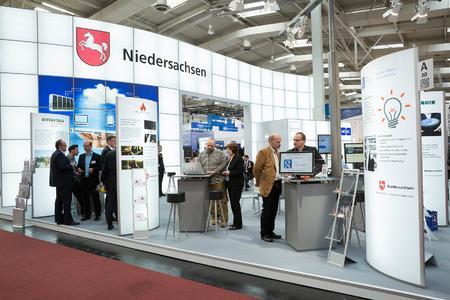 Niedersachsenstand auf der CeBIT 2015