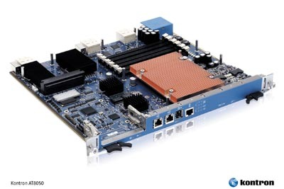 Kontron wins early TEM business with new ATCA Quad-Core node blade featuring latest Intel microarchitecture