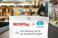 Receipt4S® und CloudTSE von fiskaly. Eine Rechnung, die für den Einzelhandel aufgeht.