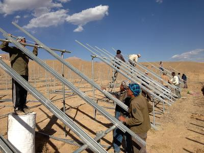 Off-Grid PV system brings power to 2,500 households and commercial properties in Afghanistan