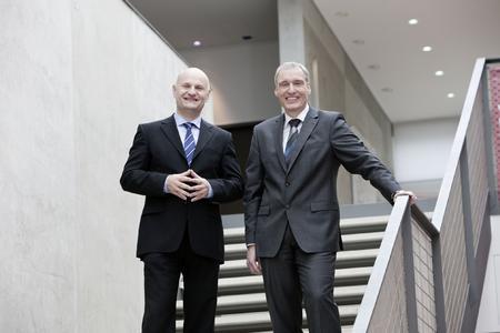 Rüdiger Müller (kaufm. Geschäftsführer, links im Bild) und Roland Hofstetter (als Geschäftsführer verantwortlich für Produkte und Innovation)