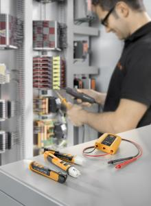 Weidmüller testing instruments: the new testing instruments with their range of functions enable efficient, reliable system testing. They provide a helping hand for users during electrical installations