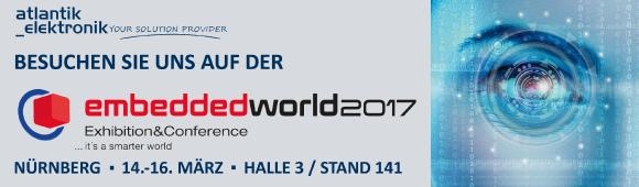 Atlantik Elektronik @embedded world 2017