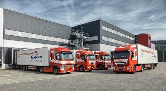 Die Schweizer Spedition G. Leclerc Transport AG ist Spezialist für temperaturgeführte Transporte mit Schwerpunkt auf Food und Pharmaprodukten / Bild: G. Leclerc Transport AG