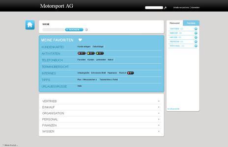 Ein komplettes Firmenportal mit über 50 Anwendungen und Vorlagen