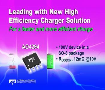 Neues von setron: Neuer MOSFET AO4294 von AOS mit äußerst niedrigem Durchgangswiderstand für synchrone Gleichrichtung
