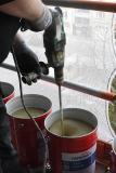 Aufrühren von Clean Galena vor Ort / Bildquelle: Remmers/Valerie Evrard