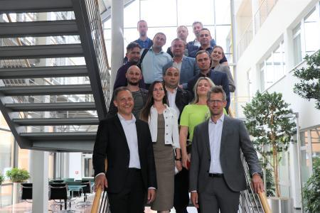 Russ. Delegation zu Gast bei davero  (c) davero dialog GmbH