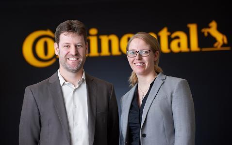 Marco Gellings und Denise Ewald