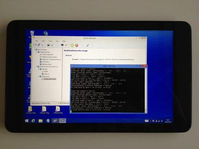 Windows real-time on UEFI based Silvermont Tablet PC...
