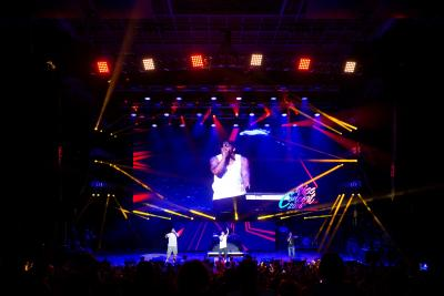 ECLPS Chooses Elation EPT6IP™ LED Displays for Annual Kiss 108 Summer Concert