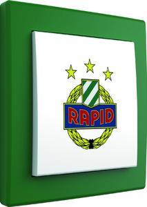 SK Rapid Wien Fan-Lichtschalter von Hager