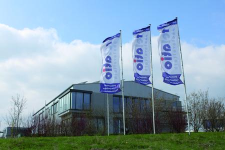 DAs neue Firmengebäude in Balingen-Enstlatt (Foto: Kipp)