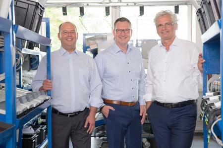 Walter Elsner, Matthias Kleemeier und Ulrich Kastner-Jung übernahmen zum neuen Geschäftsjahr gemeinsam die Geschäftsführung bei PCS Systemtechnik.