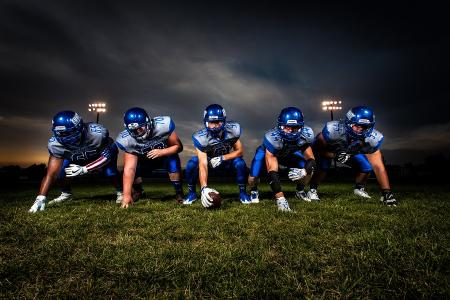 American Football ist eine Weiterentwicklung von Rugby