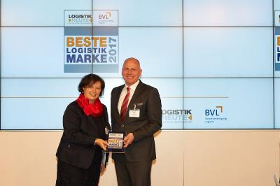 Best logistics brand - third place for Kögel