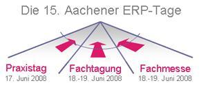 Die 15. Aachener ERP-Tage