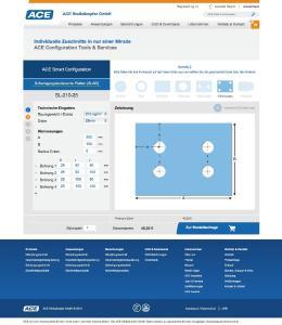 Mit den SLAB-Konfiguratoren stellt ACE ideale Arbeitshilfen für Auswahl und Zuschnitt Schwingungen isolierender und Stöße dämpfender Platten im Internet zur Verfügung. Den Bereich Schwingungstechnik erreicht man unter: www.ace-ace.de/de/berechnungen/isolationsmatten-konfigurator-online.html, Bildnachweise: ACE Stoßdämpfer GmbH