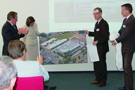 """Dr. Udo Titz von der Segro AG äußerte sich als Investor sehr zufrieden mit dem Verlauf des Projektes """"Neubau in der Westendstraße"""""""